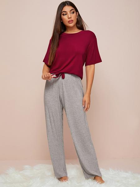 Comfortable, loose fitting pajamas are best for sleep.